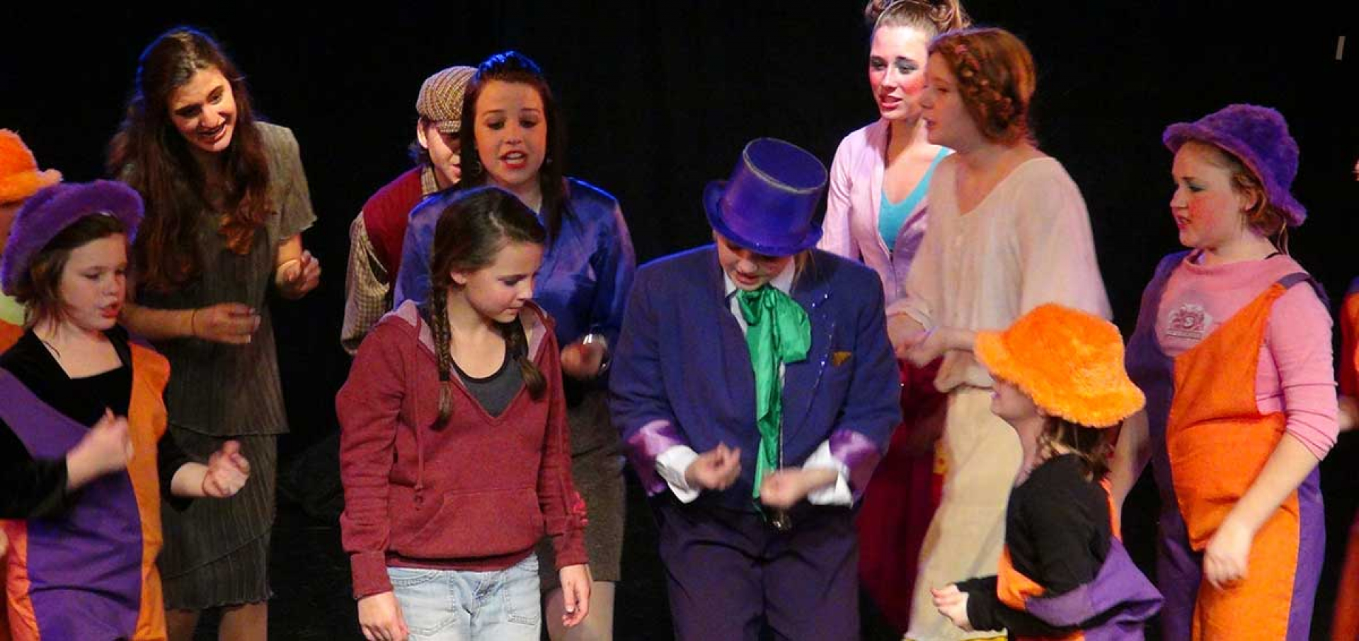 Willy Wonka, Jr. - March, 2013 - Bebe Theatre