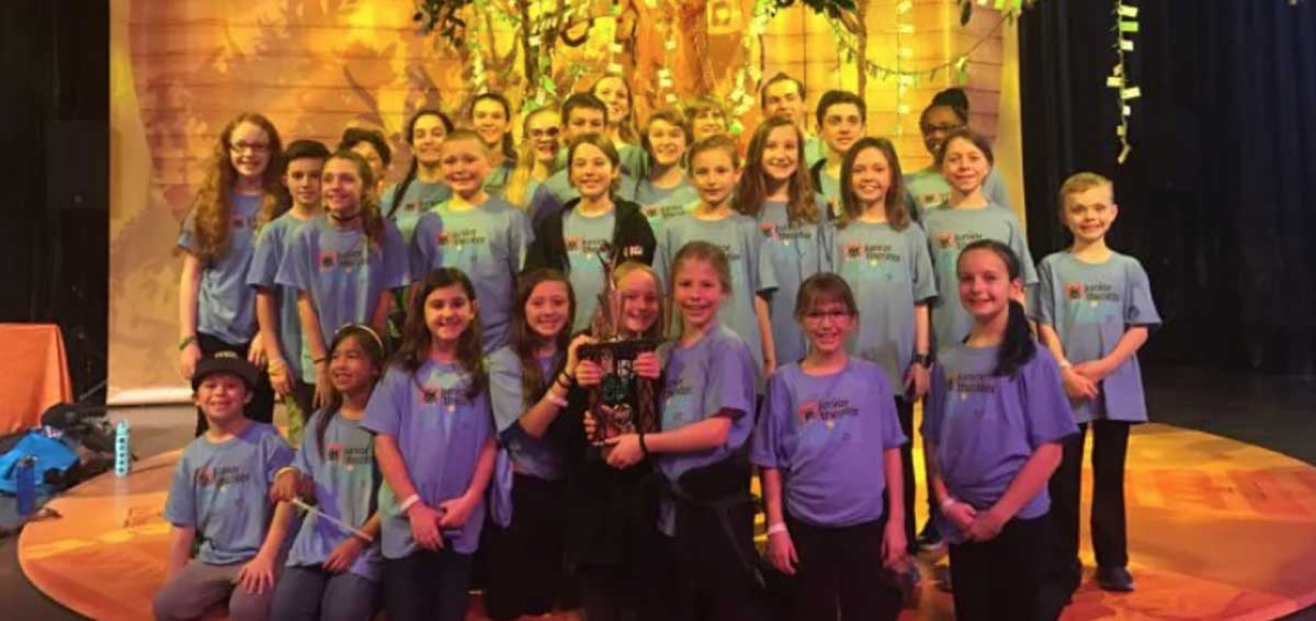 APAA Academy and Prep Students Win The Excellence in Ensemble Award at The Junior Theatre Festival